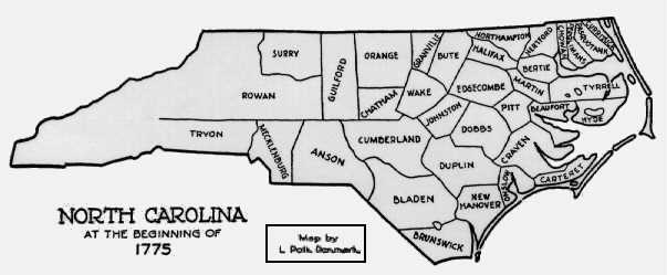 Maps Formation Of Henderson County Etowah NC Heritage - Map of north carolina with counties